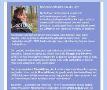nieuwsbrief Danolie mei 2021